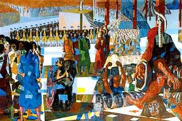 Painel Tiradentes, de Candido Portinari