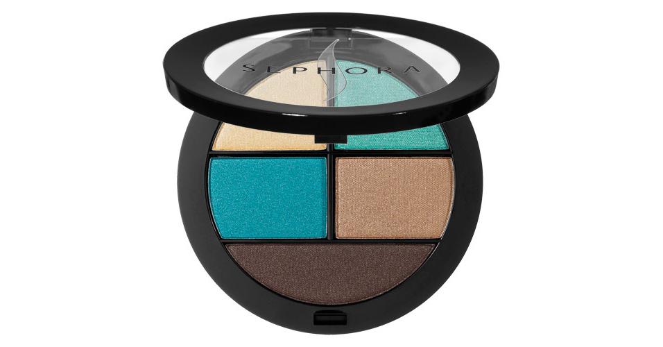 Sephora: a sombra Colorful Palette, da linha Sephora Collection sai por R$39,00 se comprada nas lojas físicas