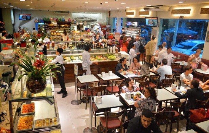 Panetteria ZN: salão concorrido (foto: Divulgação)