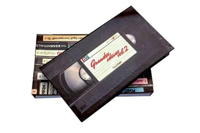 Papel Craft - Kit Bloco com Luva VHS