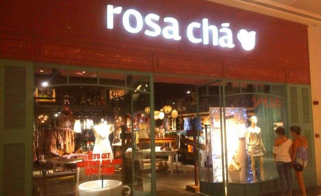 Parque Shopping Maia - Rosa Chá
