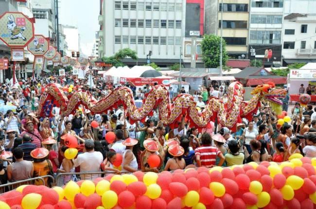 Passagem do dragão - Ano-Novo Chinês