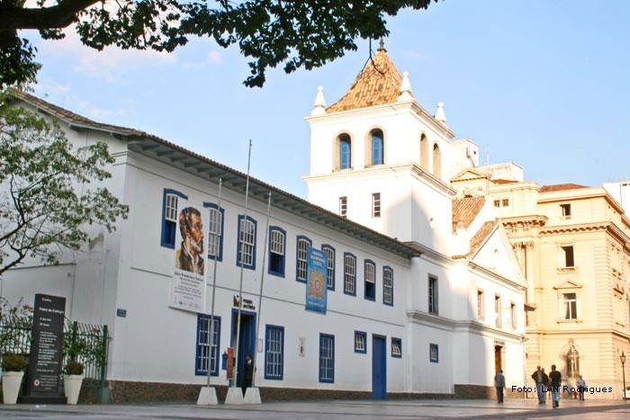 Pátio do Colégio: sede do Museu Anchieta e da Biblioteca Pe. Antonio Vieira<br />br />br />