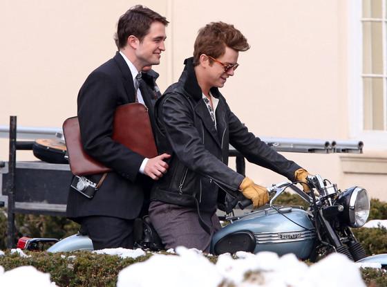 Robert Pattinson interpreta o fotógrafafo que clicou James Dean, papel de Dane Dehaan
