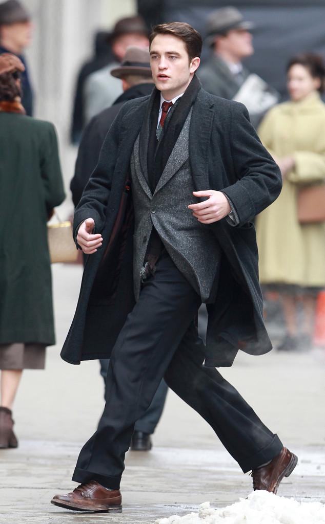 Robert Pattinson, em Toronto, nas filmagens de Life