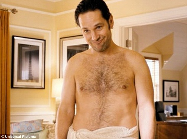 Paul Rudd na comédia Bem-Vindo aos 40, de 2012