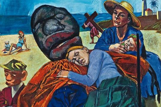 Mostra da pintora portuguesa Paula Rego: O Homem-Almofada
