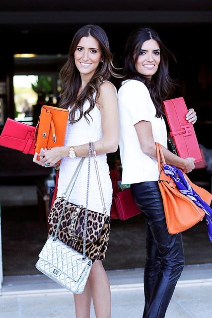 Gabriela e Daniela Carvalho, do Peguei Bode: vendas no Fasano (Foto: Divulgação)