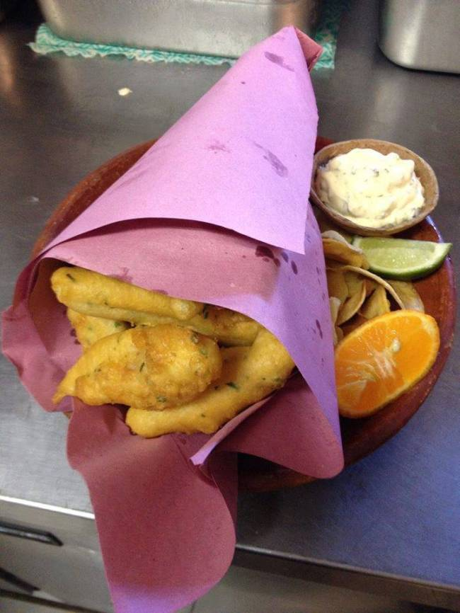 peixaria fish and chips reproducao
