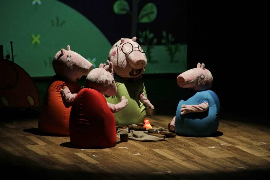 O espetáculo conta algumas das histórias vividas na animação