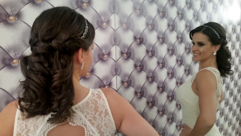 Penteado dupla face (Foto: Tatiana Izquierdo)