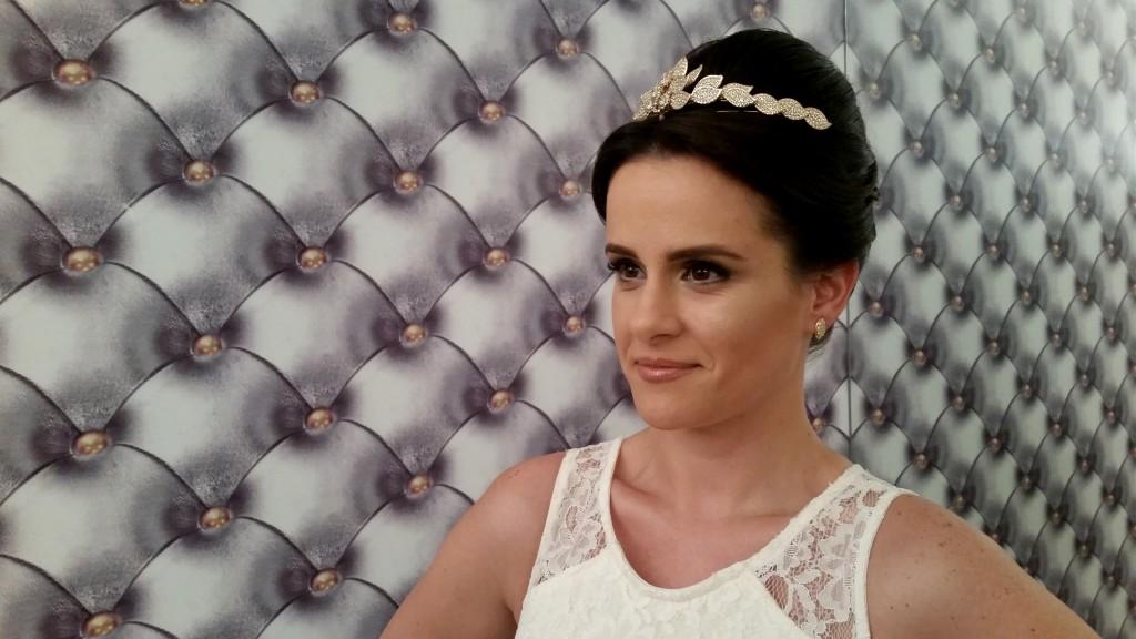 Sugestão de penteado clássico (Foto: Tatiana Izquierdo)