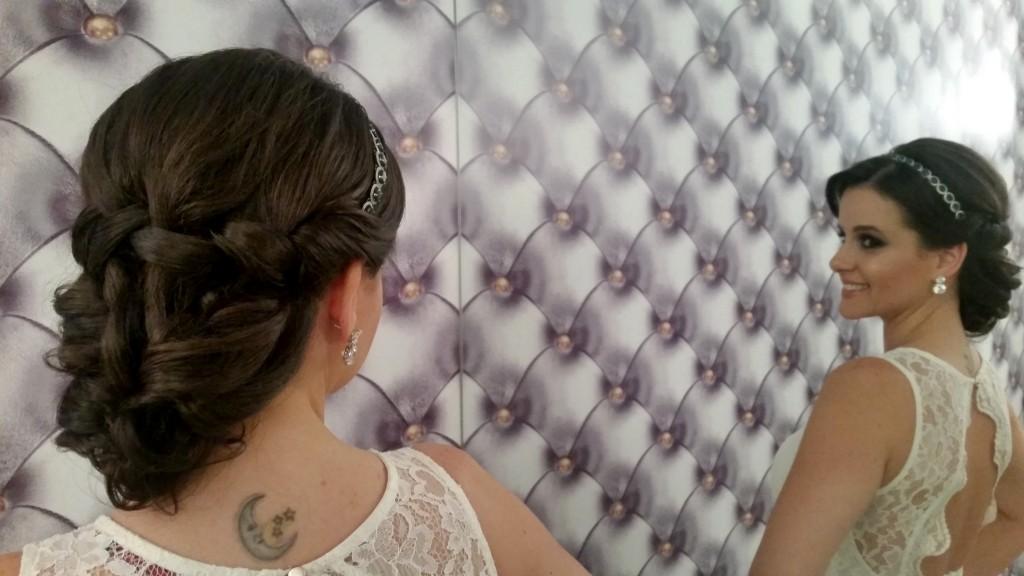 Penteado dupla face: o mais escolhido atualmente pelas noivas