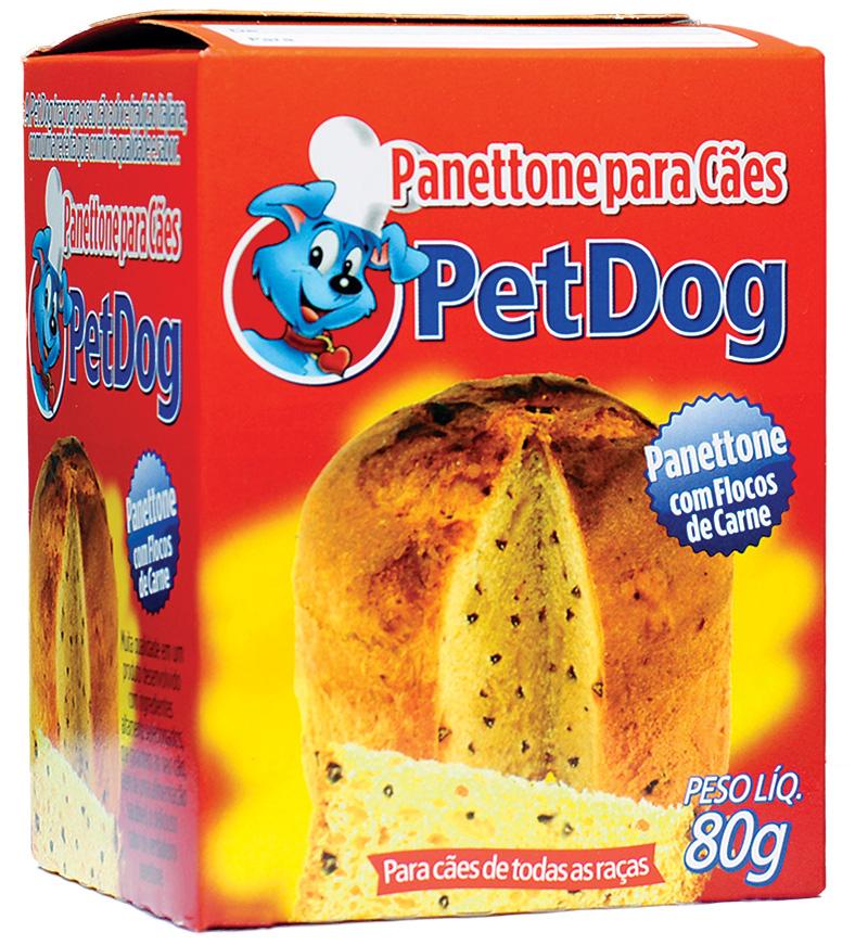 Panetone da marca PetDog: esse pode, mas (Foto: Divulgação)
