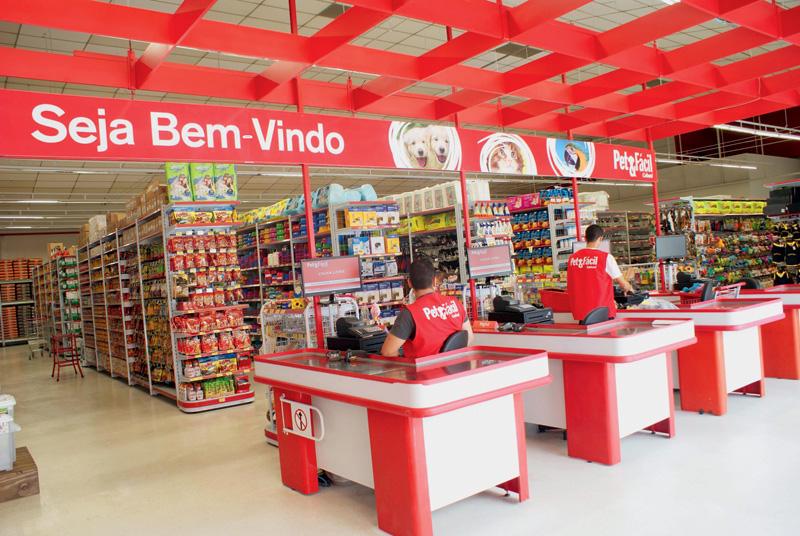 Pet & Fácil: três unidades na capital (Foto: Divulgação)