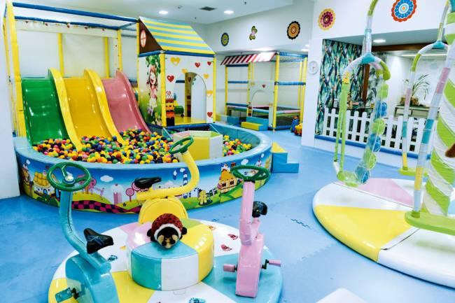 O parque Petit Enfant