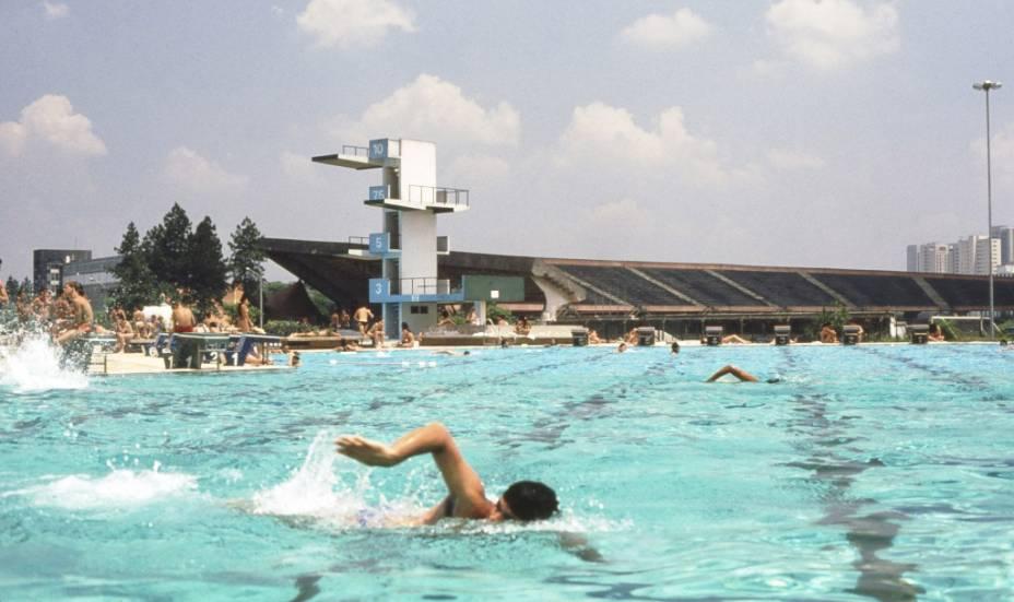 Piscina do Centro de Práticas Esportivas da USP