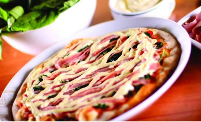 Pizza Spinaci - 1900 Pizzeria