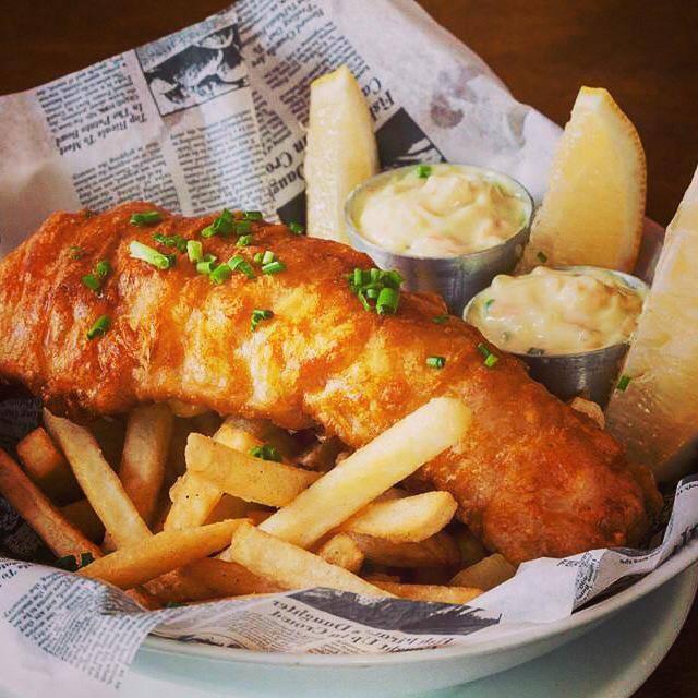 pj clarkes fish chips reproducao