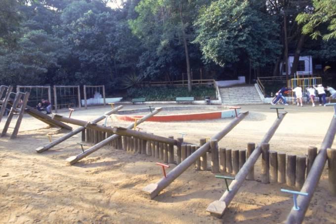 Playground do Parque Alfredo Volpi