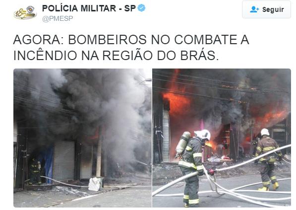 pm incendio bras