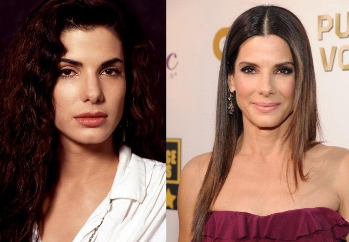 Antes e depois: Sandra em 1992 e hoje, aos 50 anos