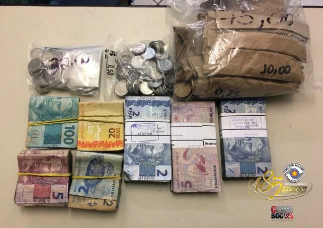 Objetos que foram roubados pelos criminosos