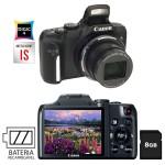 Câmera Digital Canon Powershot SX170 IS: R$ 899,00 por R$ 449,00