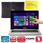 Notebook Touch Asus VivoBook com Intel Core i5: de R$ 2.399,00 por R$ 1.549,00