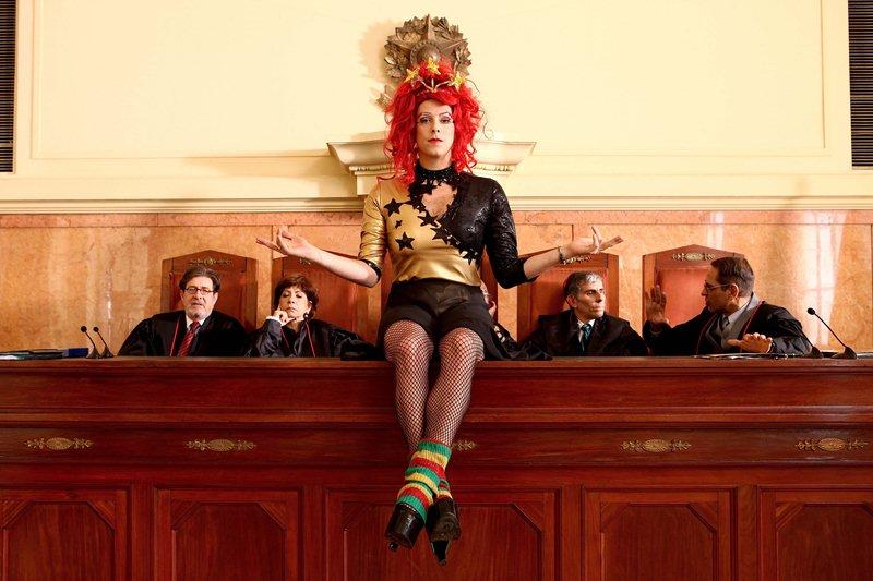 O Concurso: Fábio Porchat vestido de travesti