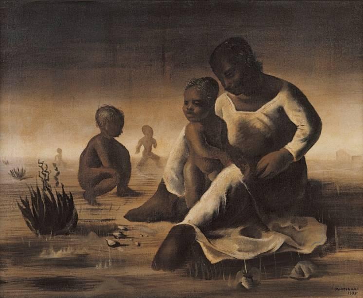 Família (1935), de Candido Portinari