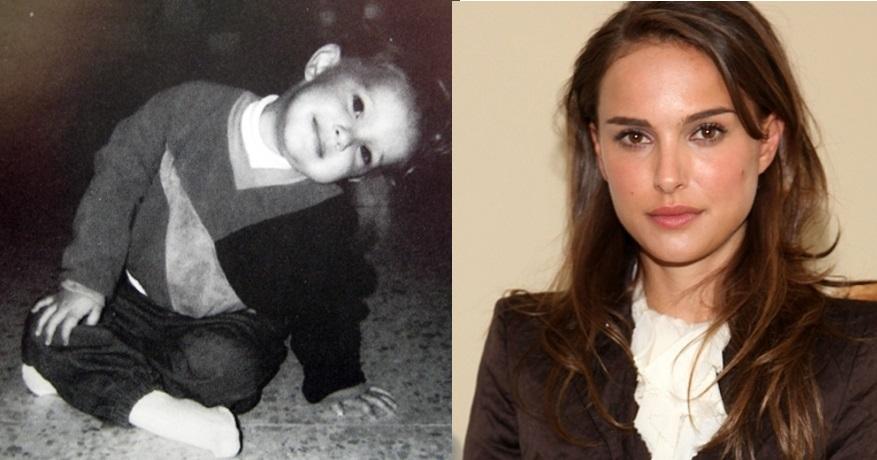 Natalie Portman já era encantadora desde criança