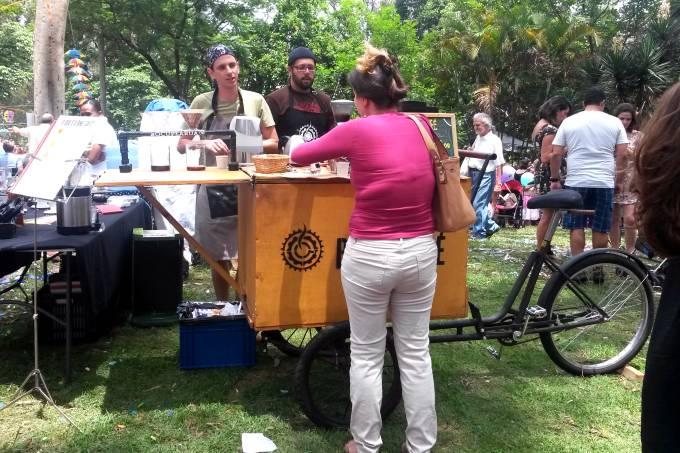 Post bike cafe 1