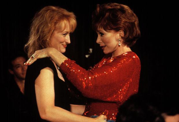 1991 - Lembranças de Hollywood: parceria musical com Shirley MacLaine