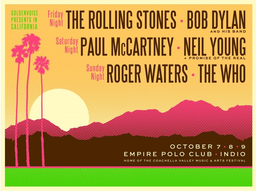 Line-up do festival dos sonhos