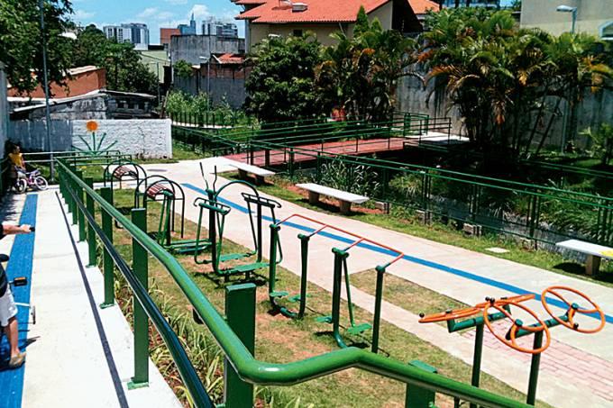 Lugares para se esbaldar – Capa Brinquedos Ed. 51 – Praça das Corujas