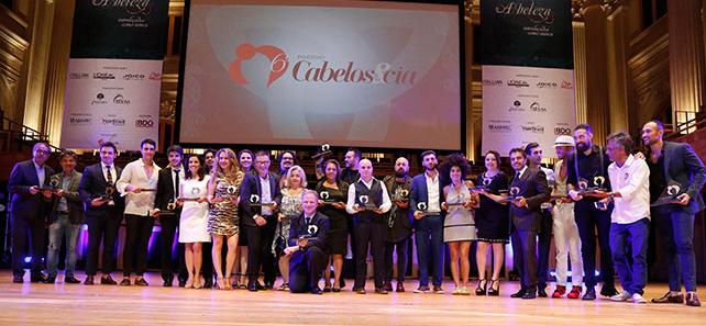 Os vencedores da 6ª edição do Prêmio Cabelos&Cia