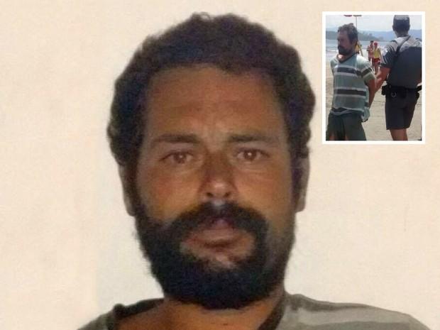 Evandro Luiz de Campos Santana foi indiciado por tentativa de sequestro e estupro