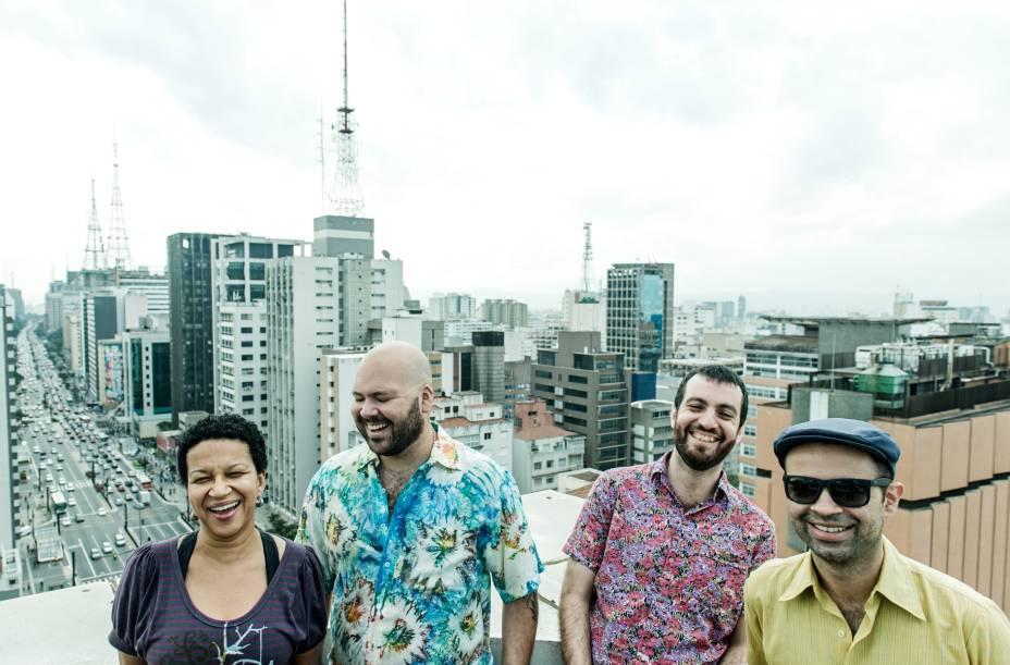 Juçara Marçal, Thiago França, Kiko Dinucci e Rodrigo Campos