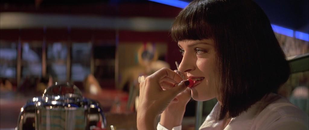 Uma Thurman em Pulp Fiction: 7, 8 e 11 de junho