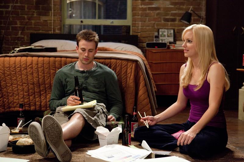 Chris Evans e Anna Faris na comédia Qual Seu Número: vizinhos e amigos