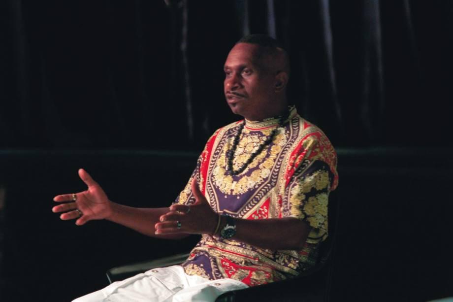 O personagem Queimado, um dos entrevistados de As Canções: documentário de Eduardo Coutinho