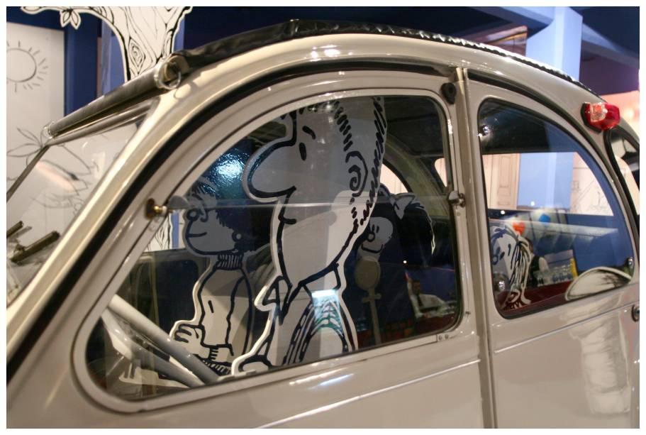Ambientes que aparecem nos quadrinhos são recriados na Praça das Artes
