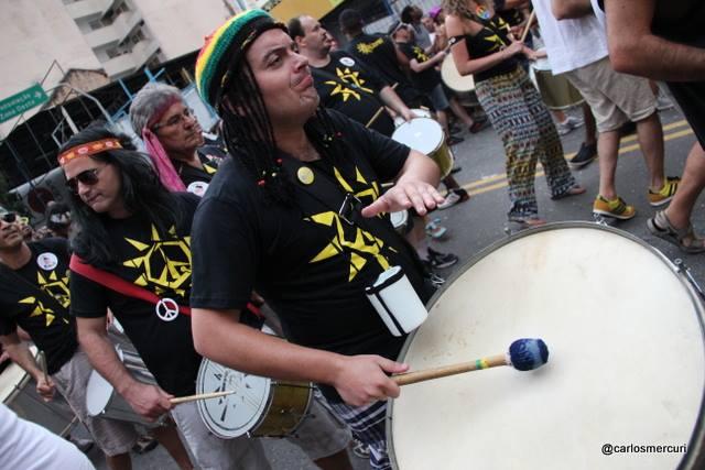 Quizomba desfila no domingo, dia 8, em Pinheiros, com 120 ritmistas. (Foto: Carlos Mercuri/Divulgação)