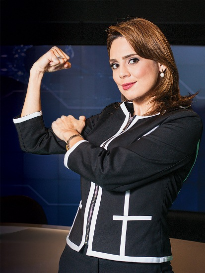 Rachel: contrato com a editora Mundo Cristão (Foto: Mario Rodrigues)