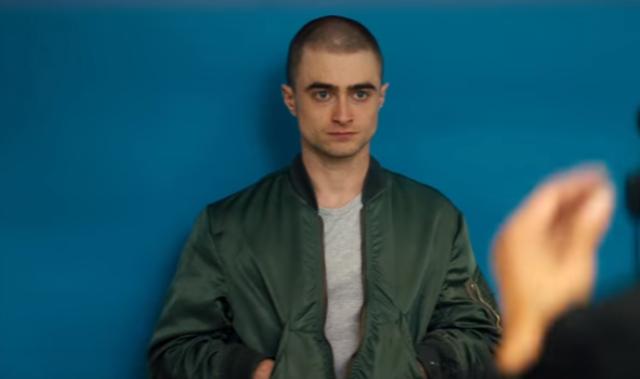 O ator raspou os cabelos para interpretar o personagem