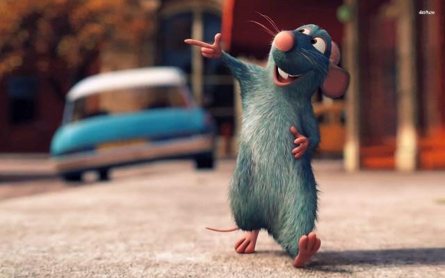 A gracioso 'Ratatouille' também conquistou um lugar no ranking