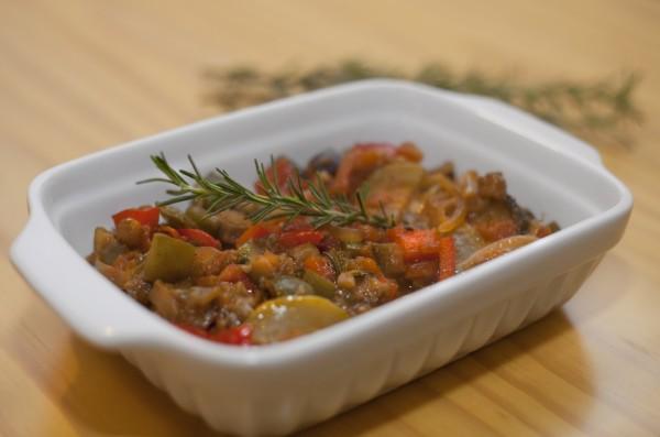 Ratatouille Camponês - do food Maria Marie