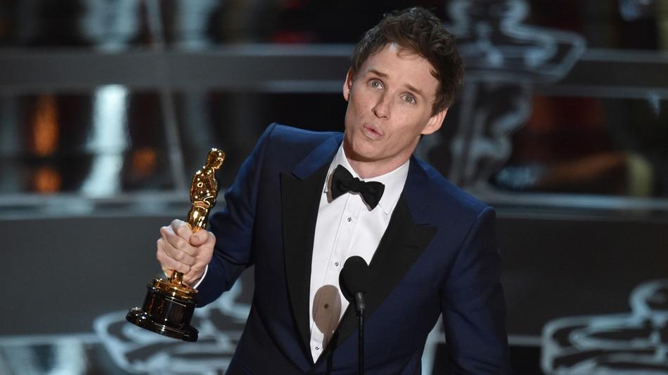 Eddie Redmayne ganhou o Oscar neste ano por A Teoria de Tudo
