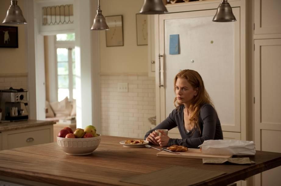 Solidão e tristeza: Becca (Nicole Kidman) vive a dor da perda de um filho